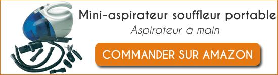 Acheter Mini-aspirateur souffleur portable