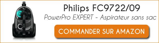 Acheter aspirateur Philips FC9722-09 PowerPro Expert