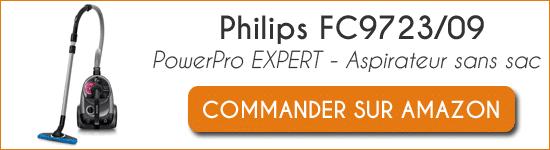 Acheter aspirateur Philips FC9723-09 PowerPro Expert