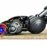 Fonctionnement aspiration Dyson DC45 Aspirateur balai sans fil sur tapis