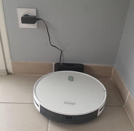 Base d'accueil Robot Aspirateur Venga RVC 3000